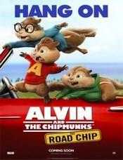 Ver Película Alvin y las ardillas 4 : Aventura sobre ruedas (2015)
