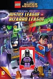 Lego Batman vs Liga de la Justicia Bizarro Liga