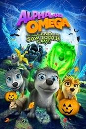 Ver Película Alfa y Omega 4 La legenda de la cueva del diente de sierra (2014)