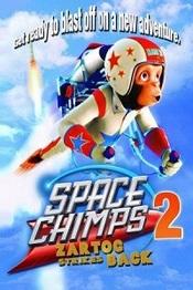 Ver Película Space Chimps 2: Zartog ataca de nuevo (2010)