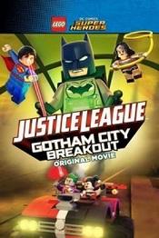Liga De La Justicia LEGO: Escape De Ciudad Gótica Pelicula