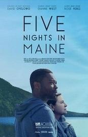 Ver Película Cinco noches en Maine (2015)