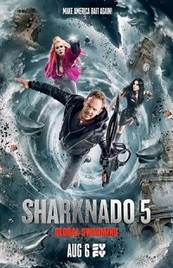 Ver Película Sharknado 5: Aletamiento global (2017)
