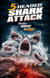Ver Película El ataque del tiburón de cinco cabezas (2017)