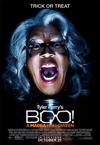 Ver Película Tyler Perry en Boo!: Un Halloween con Madea (2016)