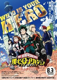 My Hero Academia: Two Heroes, la película HD