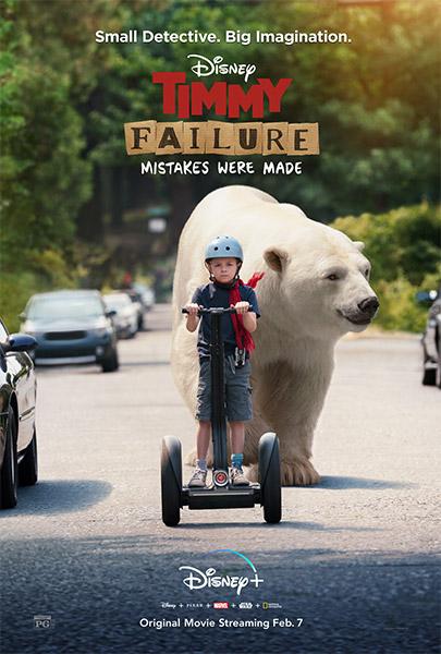Ver Película Las aventuras de Timmy Failure (2020)