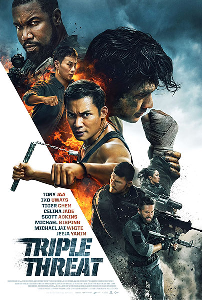 Ver Película Triple amenaza (2019)