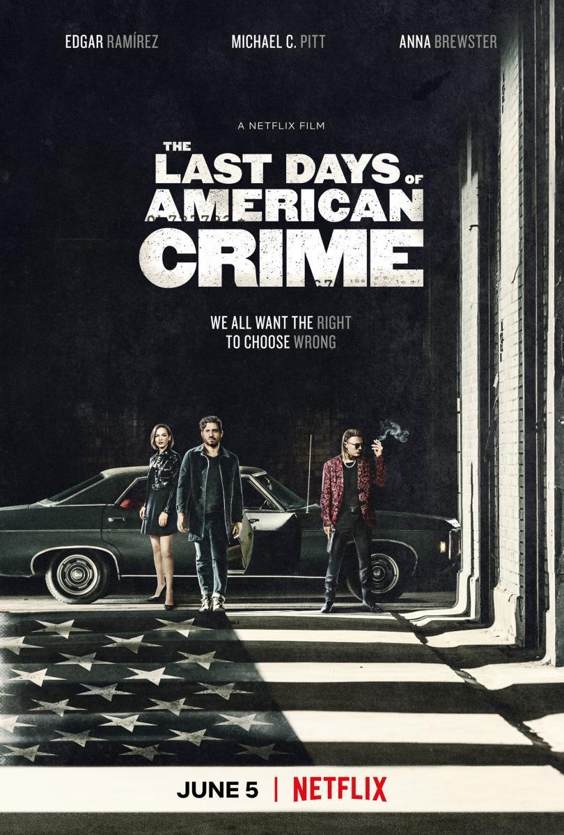 Ver Película Los últimos días del crimen (2020)