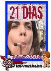 21 dias fumando porros