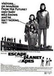 Ver Película Huida del planeta de los simios (1971)