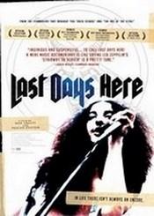 Ver Película Last Days Here (2011)