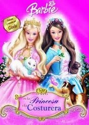 Barbie, la princesa y la costurera