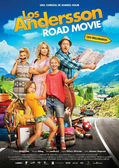 Ver Película Los Andersson road movie (2013)