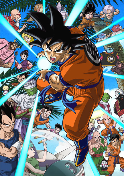 Dragon Ball Z Goku y sus amigos regresan