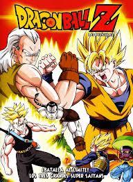 Dragon Ball Z La Pelea de los tres saiyajin
