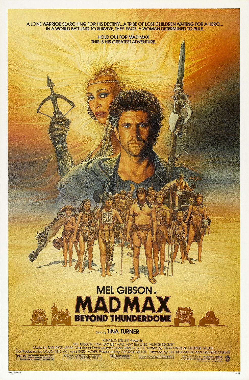 Ver Película Mad Max 3 : Mas Alla de la Cupula del Trueno (1985)