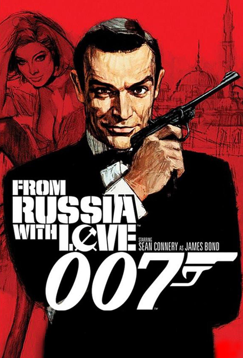 EL Agente 007 : De Rusia con Amor