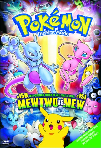 Pokemon 1 : mew vs mewtow