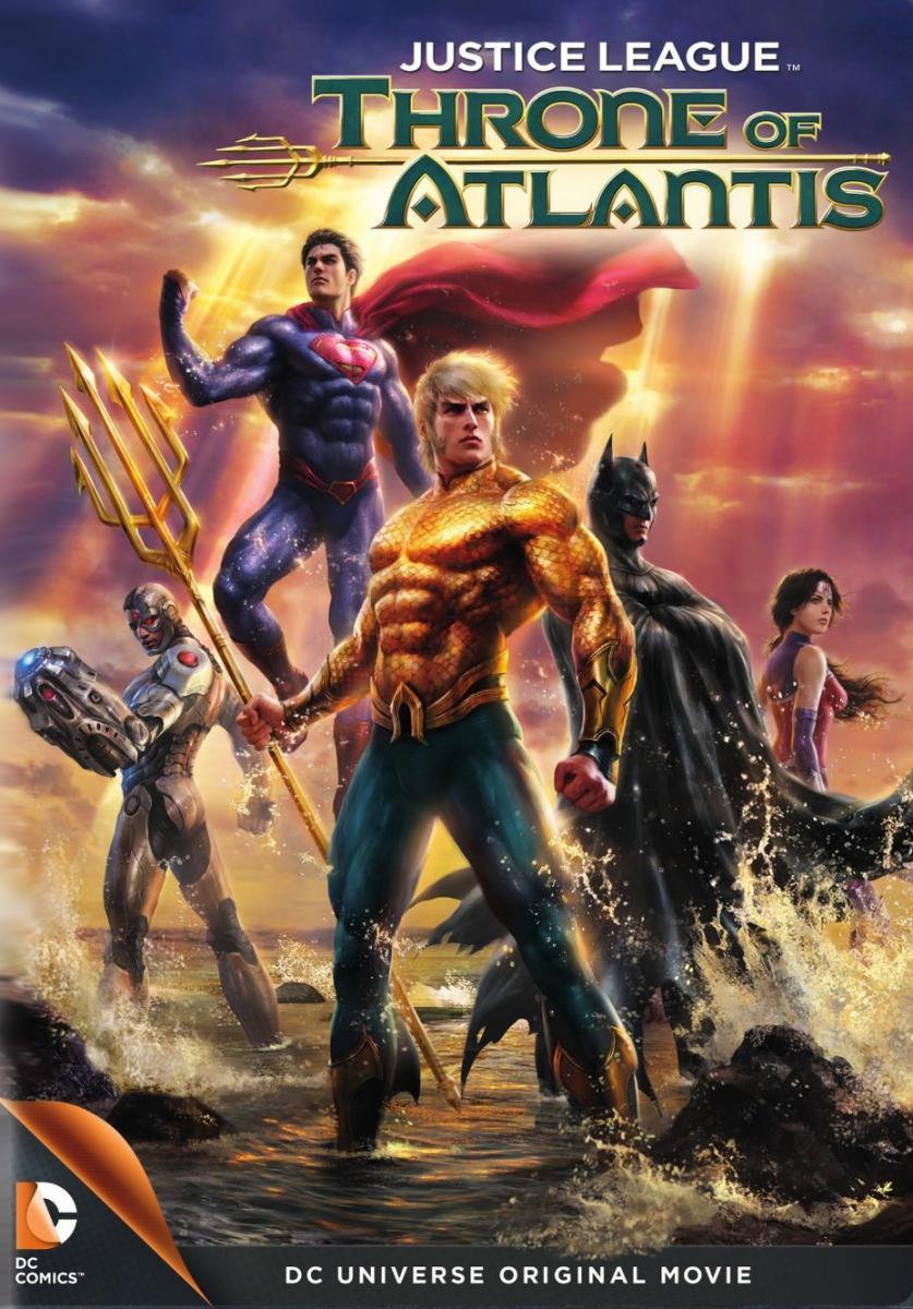 Ver Película La liga de la justicia El trono de Atlantis (2015)