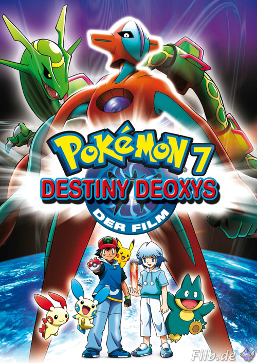 Pokemon 7  Destino Deoxys