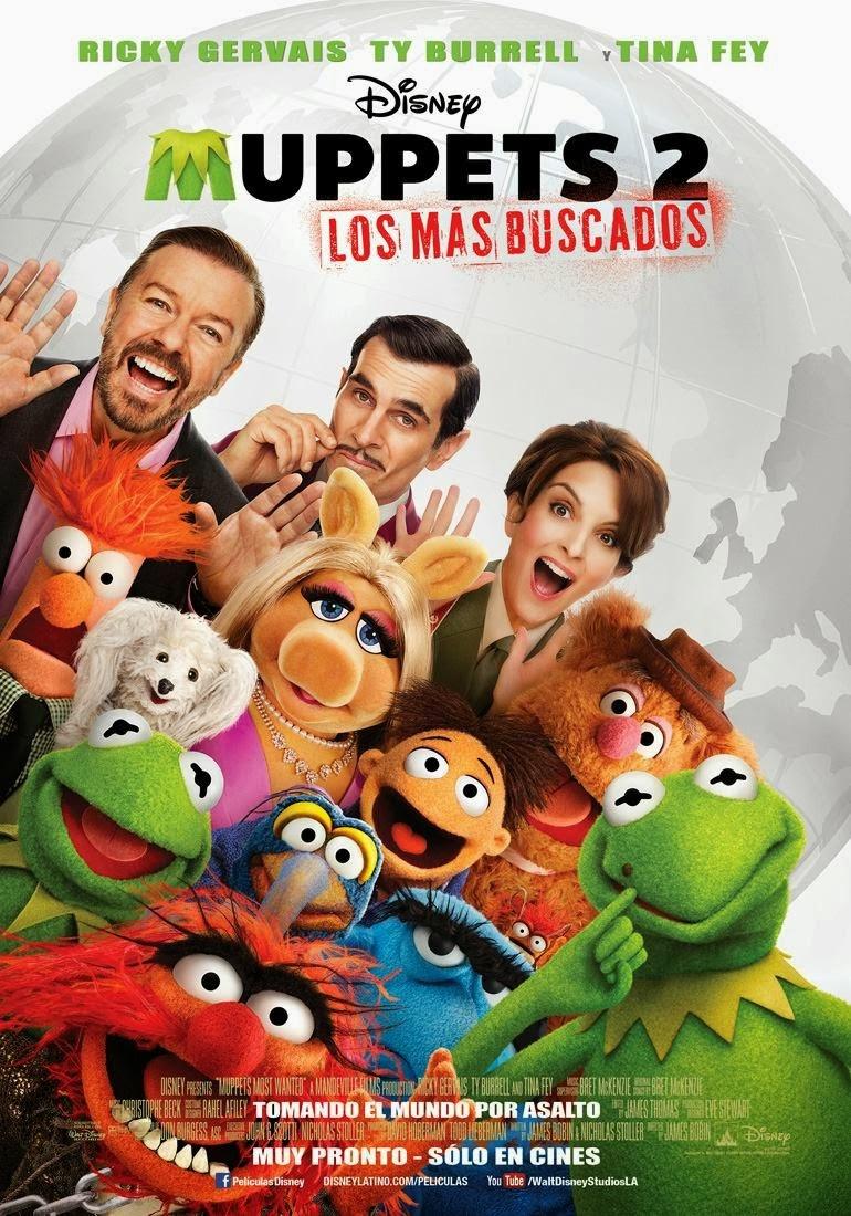 Ver Película Los Muppets 2 : Los Mas Buscados (2014)