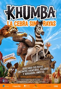 Ver Pel�cula Khumba La Cebra (2013)