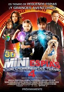 Ver Película Mini Espias 4 y los ladrones del tiempo (2012)