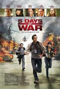 Ver Película 5 Dias de Guerra (2011)